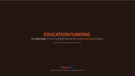 SC Education Funding Overview 2015-Nov